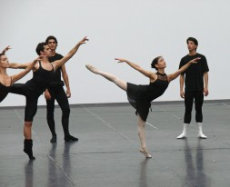 Cours public du ballet national de Cuba