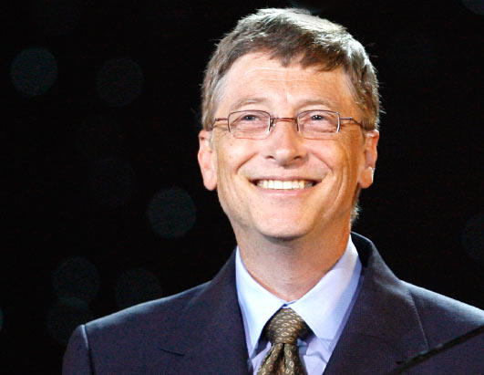 Bill Gates at Harvard University (2007)