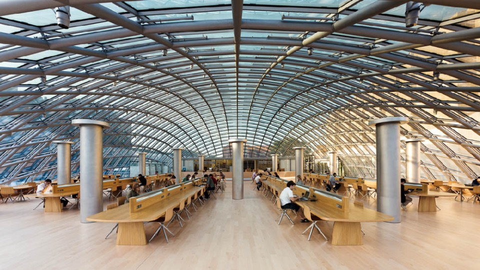 The Joe and Rika Mansueto Library
