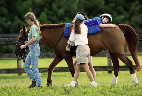 Horse Therapy for Children with Special Needs