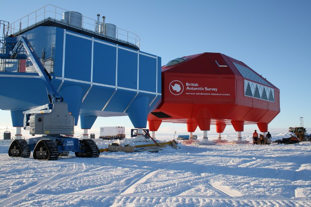 British Antarctic Survey Halley Research Station