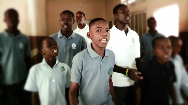 Haitian youths use hip-hop to inspire earthquake recovery