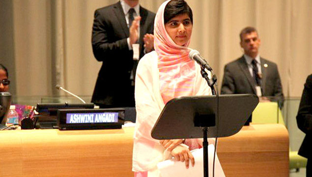 Malala Yousafzai addresses United Nations Youth Assembly